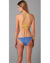 Basta Surf | Blue Raglan Reversible Bikini | Lyst