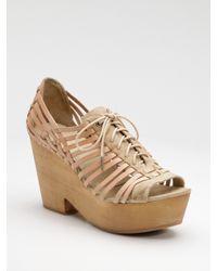Rag & Bone | Natural Horos Woven Oxford Sandals | Lyst