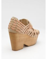 Rag & Bone - Natural Horos Woven Oxford Sandals - Lyst