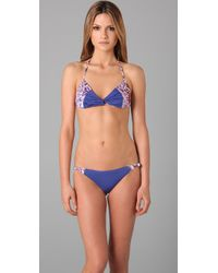 Seventh Wonderland | Purple Belle Fille Knot Bikini | Lyst