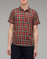 Penny Stock | Multicolor Plaid Penny Popover for Men | Lyst