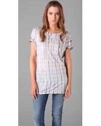 C&C California | White Tie Dye Tunic | Lyst