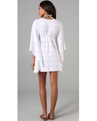 Melissa Odabash | White Jayla Eyelet Cover Up | Lyst