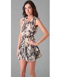 IRO - Gray Tiaz Dress - Lyst