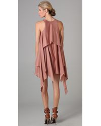 Jen Kao - Pink Gleaners Tank Dress - Lyst