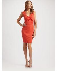Robert Rodriguez | Red Jersey Dress | Lyst