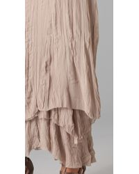 Alice + Olivia - Brown July Layered Maxi Skirt - Lyst