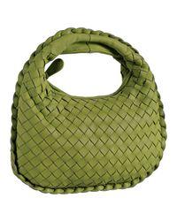 Bottega Veneta - Green Assenzio Woven Leather Mini Bag - Lyst