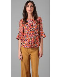 Chris Benz | Multicolor Anita Top | Lyst