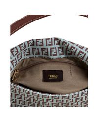 Fendi | Green Mint and Chocolate Zucchino Mamma Shoulder Bag | Lyst
