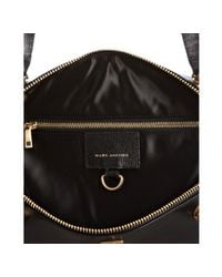 Marc Jacobs - Blue Quilted Canvas and Leather Westside Boston Bag - Lyst