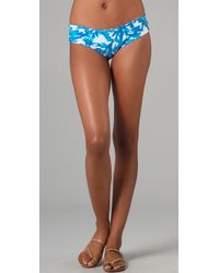 Mikoh Swimwear | Blue Bali Basic Booty Bikini Bottoms | Lyst