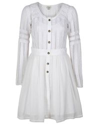 Temperley London | White Trina Dress Coat | Lyst