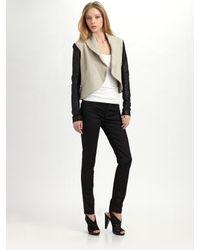 VEDA - Black Creed Jacket - Lyst