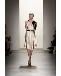 Erin Fetherston | White Tie Neck Dress | Lyst