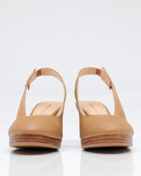 Marais Usa | Brown Slingback Wedge | Lyst