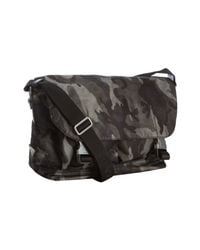 Prada | Gray Smoke Camouflage Nylon Messenger Bag for Men | Lyst