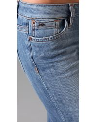 Joe's Jeans | Blue High Rise Wide Leg Jeans | Lyst