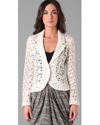 Opening Ceremony | White Lace Blazer | Lyst