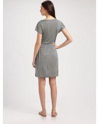 Tory Burch - Green Arieta Silk Interlock Dress - Lyst