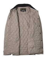 Barbour | Gray Grey Liddesdale Quilted Jacket for Men | Lyst