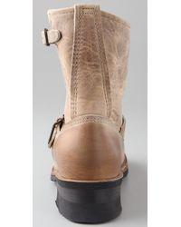 Frye | Brown Engineer 8r Boots | Lyst