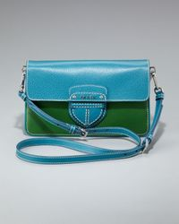 Prada | Blue Cinghiale Color Crossbody Bag | Lyst