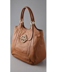 Tory Burch | Brown Amanda Shopper Bag | Lyst