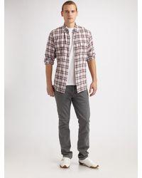 Earnest Sewn | Purple Field Sportshirt for Men | Lyst