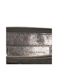 Balenciaga - Black Calfskin Milky Way Papier Wristlet - Lyst