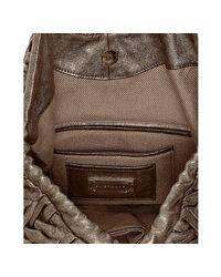 Elie Tahari | Pyrite Metallic Chevron Leather Beverly Tote | Lyst
