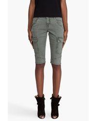 J Brand | Green Houlihan Shorts | Lyst