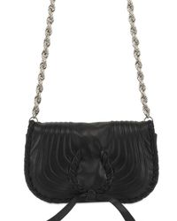 Nina Ricci | Black Lambskin Shoulder Bag | Lyst