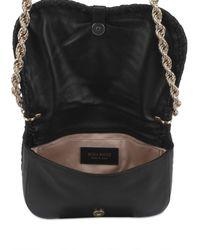 Nina Ricci | Black Lambskin Shoulder Bag | Lyst
