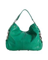 Rebecca Minkoff   Blue Sea Green Leather Mini Nikki Shoulder Bag   Lyst