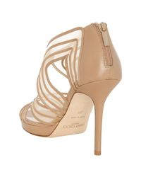 Jimmy Choo   Natural Miles Sandals   Lyst