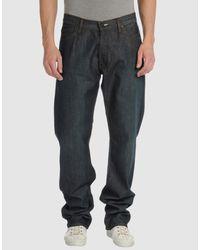 Acne Studios | Blue Denim Pants for Men | Lyst