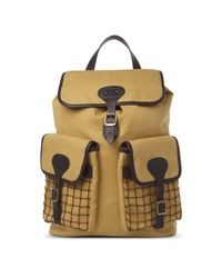 Barbour Brown Beacon Backpack for men