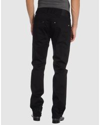 Guess - Black Marciano Cotton Pants for Men - Lyst