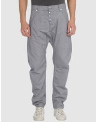 Humor | Gray Chino Trousers for Men | Lyst