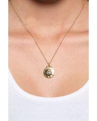 Jessica Elliot | White Vermeil Initial Necklace | Lyst