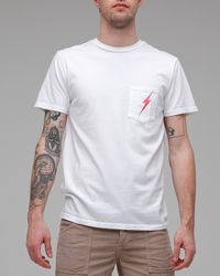 Lightning Bolt | White Bolt Tee for Men | Lyst