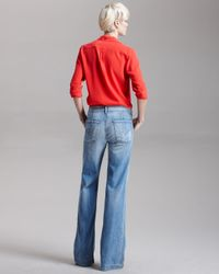 Citizens of Humanity - Blue Flaunt Free Super Wide-leg Jeans - Lyst