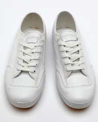 Feiyue - White Fe Lo Waxy Leather for Men - Lyst