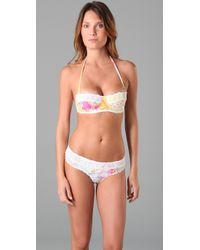 Zimmermann | White Whisper Crochet Bikini | Lyst