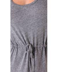 C&C California | Gray Triblend Maxi Tank Dress | Lyst