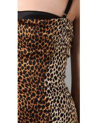 Dolce & Gabbana | Multicolor Bustier Printed Dress | Lyst