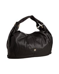 Givenchy | Black Leather Large Hobo Shoulder Bag | Lyst