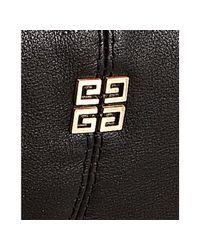Givenchy | Black Leather Large Hobo Shoulder Bag | Lyst