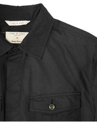 Rag & Bone | Black The Bradford Shirt for Men | Lyst